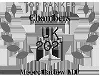 Moore Barlow LLP Top Ranked CHAMBERS UK 2021