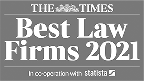 The Times - Best Law Firms 2021